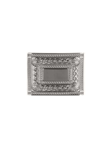 Belt Buckles Johnstone | 4 Dome Chrome Belt Buckle £25