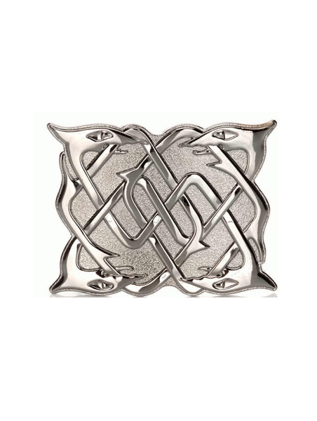 Belt Buckles Bishopton | Serpent Chrome Belt Buckle £25