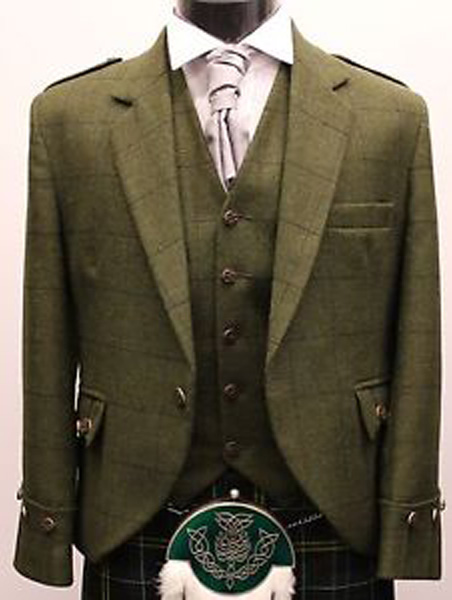 Kilt Hire | Bespoke Jacket Made To Order Johnstone