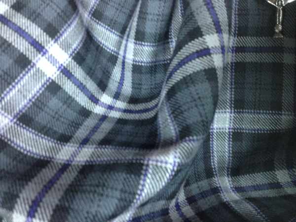 Black Scottish national tartan | Howwood