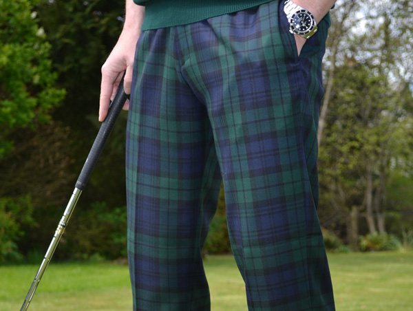 Tartan Trousers | Hunting Robertson Johnstone